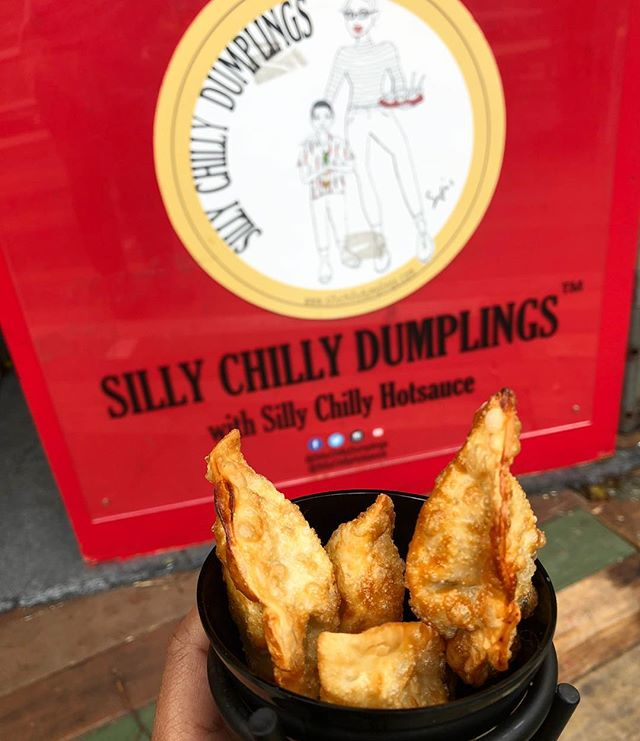 We are at Columbus Circle Holiday Market till December 24th. Get you favorite dumplings from @sillychillydumplings and pick up some Hotsauce for the holidays 🥟🌶🥟 Booth #33B Location: Columbus Circle, Manhattan NY