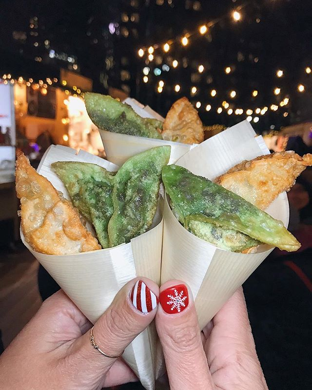 Treat yourself on this Sunday 🥟🌶 with @sillychillydumplings with @sillychillyhotsauce  Regrann from @nycmunchkin - @sillychillydumplings has opened in Columbus circle holiday markets! Looking to celebrate the holidays with some dumplings? Look no further and come here! SO DELICIOUS, trust us 🥟🥟 . . . . #sillychillydumplings #columbuscircleholidayshops #sillydumplings #dumplings #chicken #nycfood #NYCfoodie #eatingnewyork #eatupnewyork #NYCfood #devourpower #eatingNYC #NYCfat #NYCdining #foodbeast #dineoutnyc #forkyeah #newforkcity #foodiegram #newyorkthis #likefoodnewyork #bestfoodny #eatupnyc #eaterny #nyfoodie #foodbeast #foodnation #eatupnyc #nycmunchkin