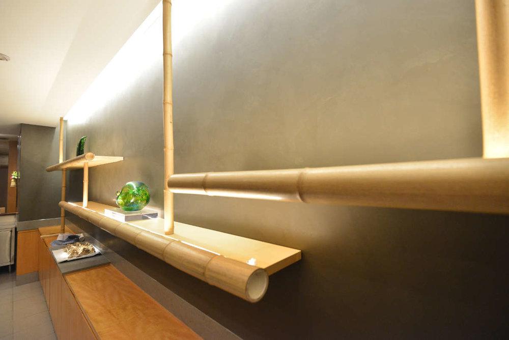 Tenshin at Regent Hotel - Seamless Armourcoat stone wall finishes & Junckers harmony Beech timber floors