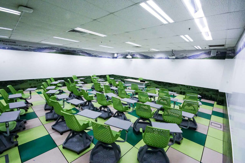 Copy of ITE West - IdeaPaint on 360 classroom environment