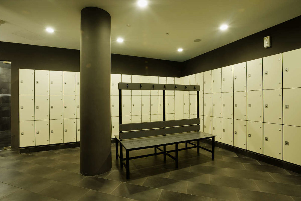 NUSS Graduate Club- Marathon Collection Cubicles & Lockers