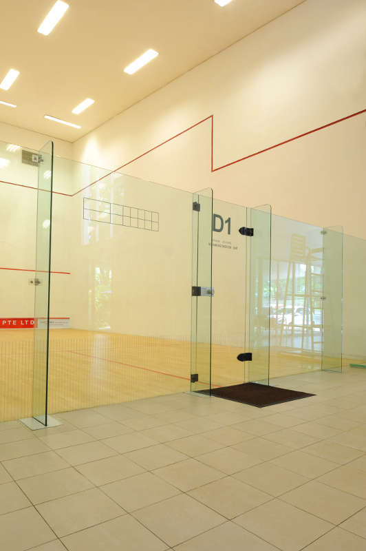 Tanglin Club- Prospec Surfaces Squash Court