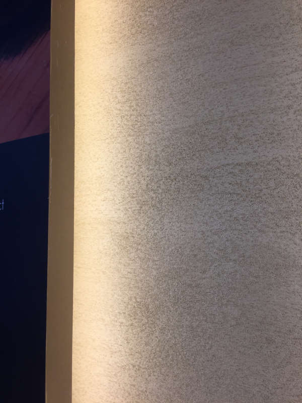 Korean Tofu- Walls & Columns in Armourcoat Travertine finish