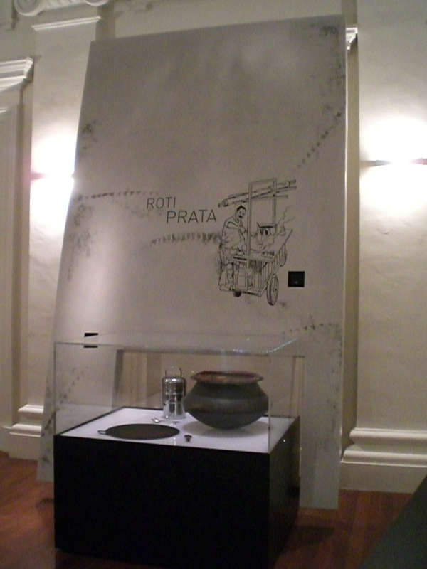 National Museum- Armourcoat on display panels, with decal