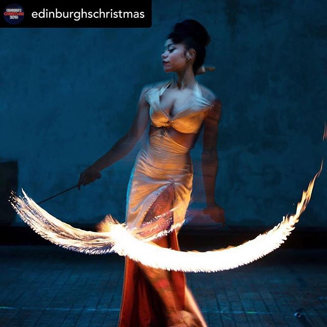 On fire for our final show of the season! 🔥🔥🔥 . . . Posted @withrepost • @edinburghschristmas Bring your festive season to a spectacular finish! Tonight is the LAST CHANCE to catch the incredible La Clique Noël - Part Deux. Don't miss this dazzling show! ⭐️🎉🔥