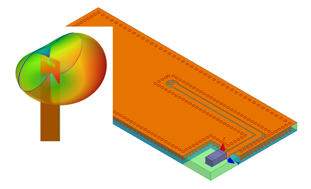 Chip antenna and 3d component assembly