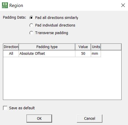 Create region