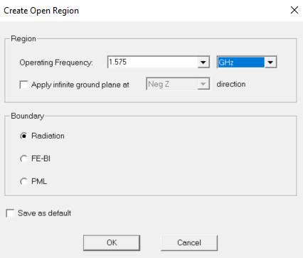Create Open Region