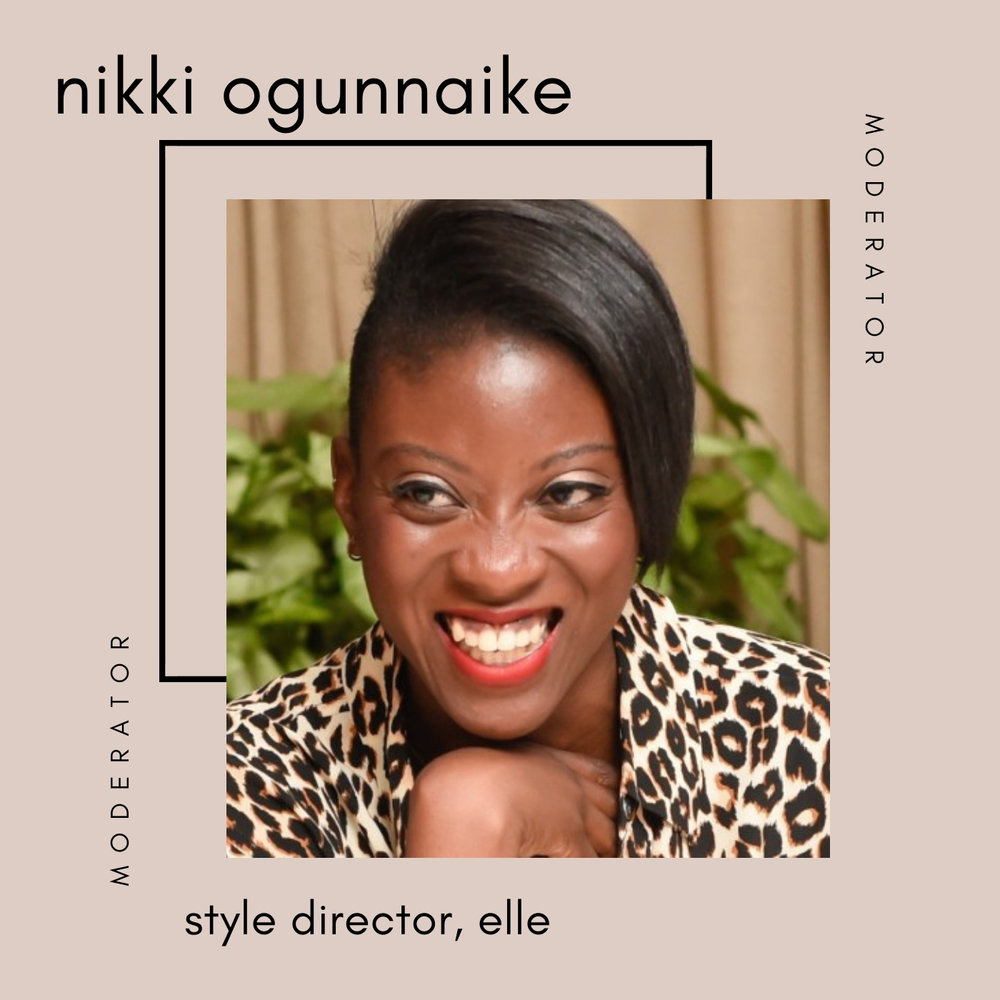 Nikki ogunnaike at the sustainable fashion forum