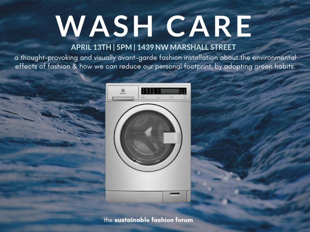 wash care - design week portland event