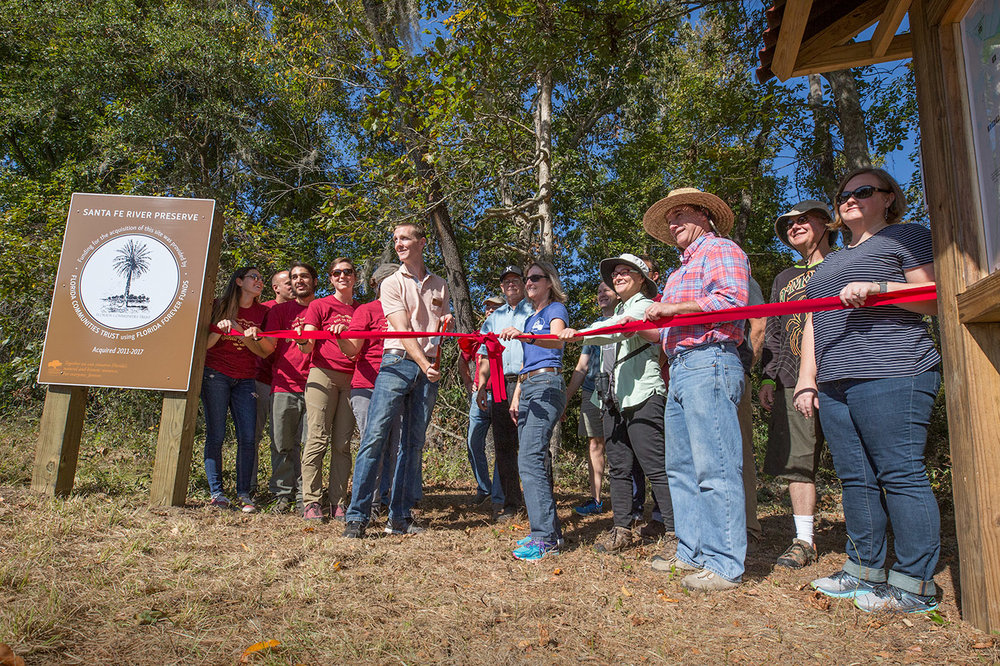 900-acre Santa Fe River Preserve celebrates opening - by Cindy Swirko, Nov 18, 2017