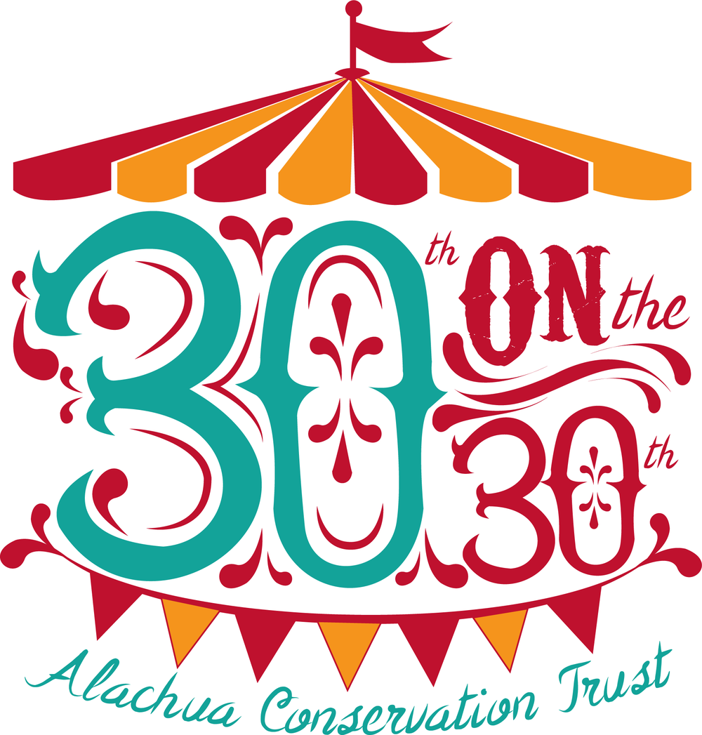 Alachua Conservation Trust's 30th Anniversary - Press Release, September 25, 2018