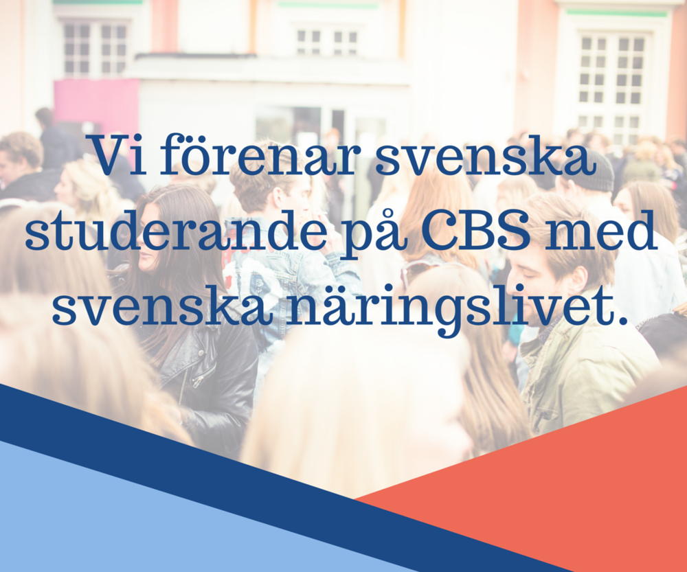 Get in touch - swedenstudents.orgEmail address: kontakt@swedenstudents.orgFacebook: SweDen Students