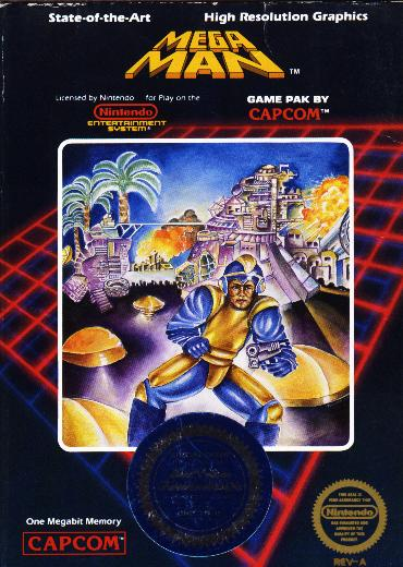 Terrible Box Art Alert - A.) It doesn't even look like Mega Man B.) Is that a pistol he's holding?!? C.) It's hilariously awesome in retrospect!