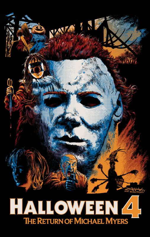 Halloween 4 - Halloween 4 has a bit of a bad reputation, but if you go back and watch this in relation to the rest of the series, I think you'll be surprised at how well it holds up. It would honestly be higher on my list if George P. Wilbur weren't the worst version of The Shape in existence.