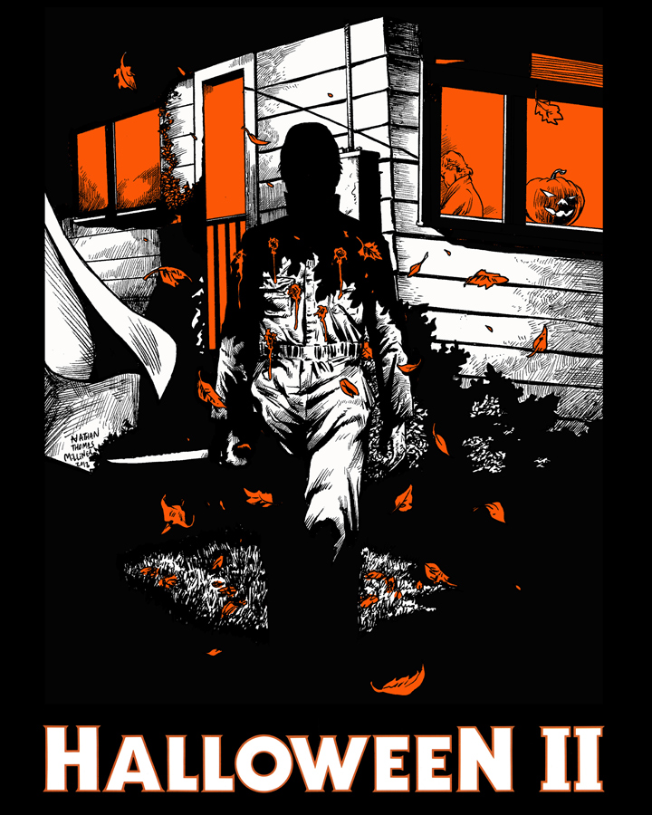 Halloween II - Halloween II and the original classic go hand in hand for me. The way they flow directly into each other is pure genius and I think it feels the closest to the original because of it. I absolutely love this film, though some decry the increased violence compared to the original. You've got to remember, Friday the 13th had just upped the ante, and no film after that was going to get by like the original did at that point.