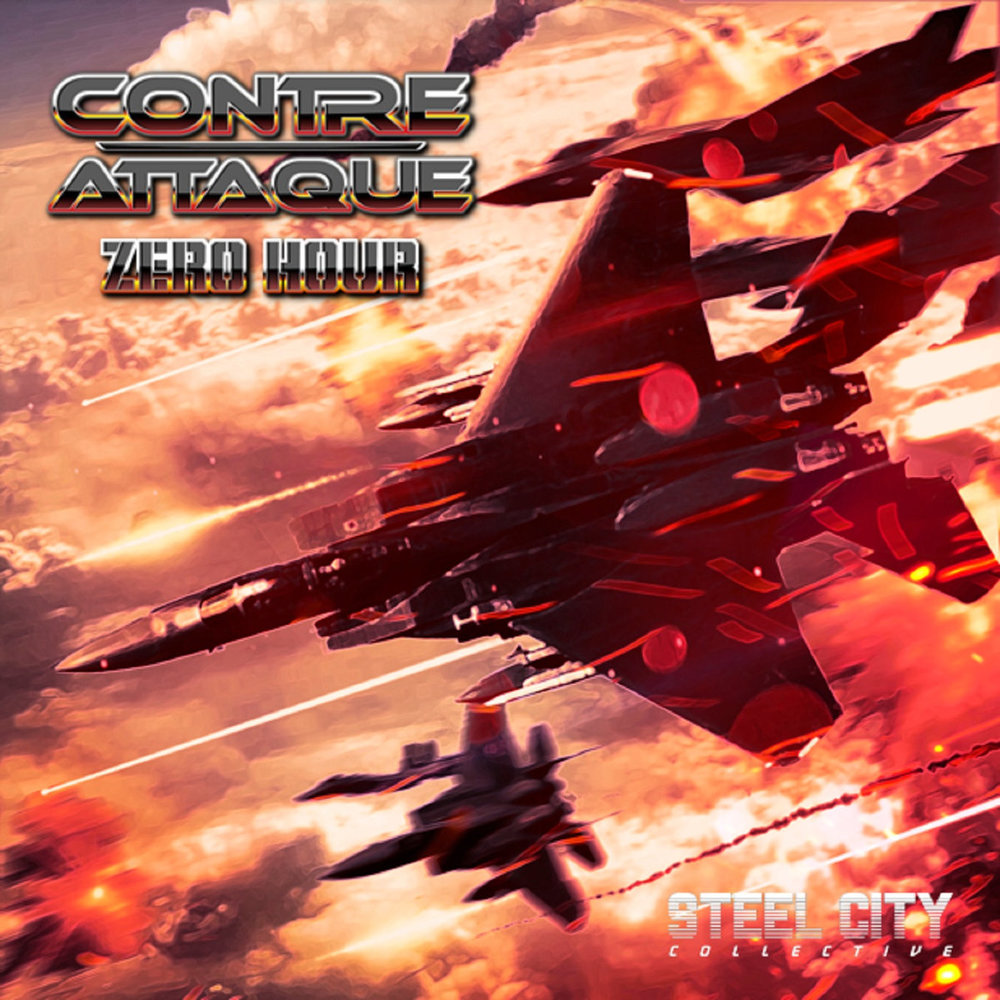 Contre-Attaque / Zero Hour - This musically rich EP manages to fuse the nostalgia hooks but ramps the velocity up to the max. I honestly feel like the album cover puts you in the right mindstate. This is the soundtrack to the best bullet hell game you've not played yet!