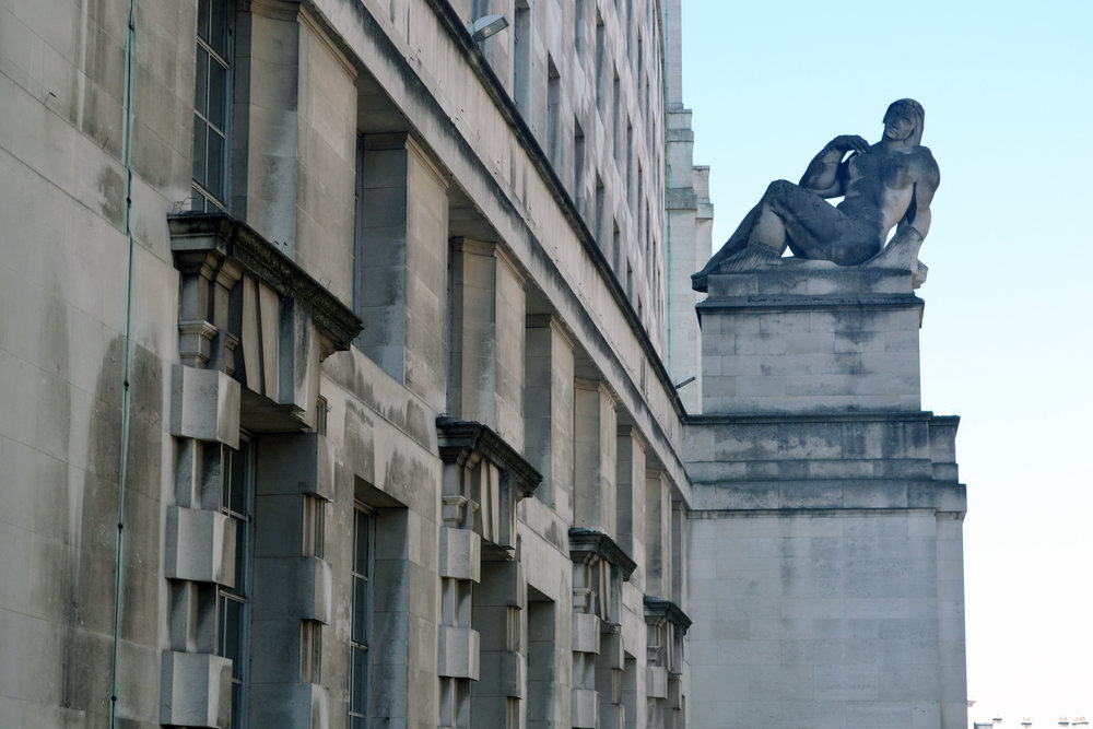 Ministry of Defence - 'Earth and Water' sculptures