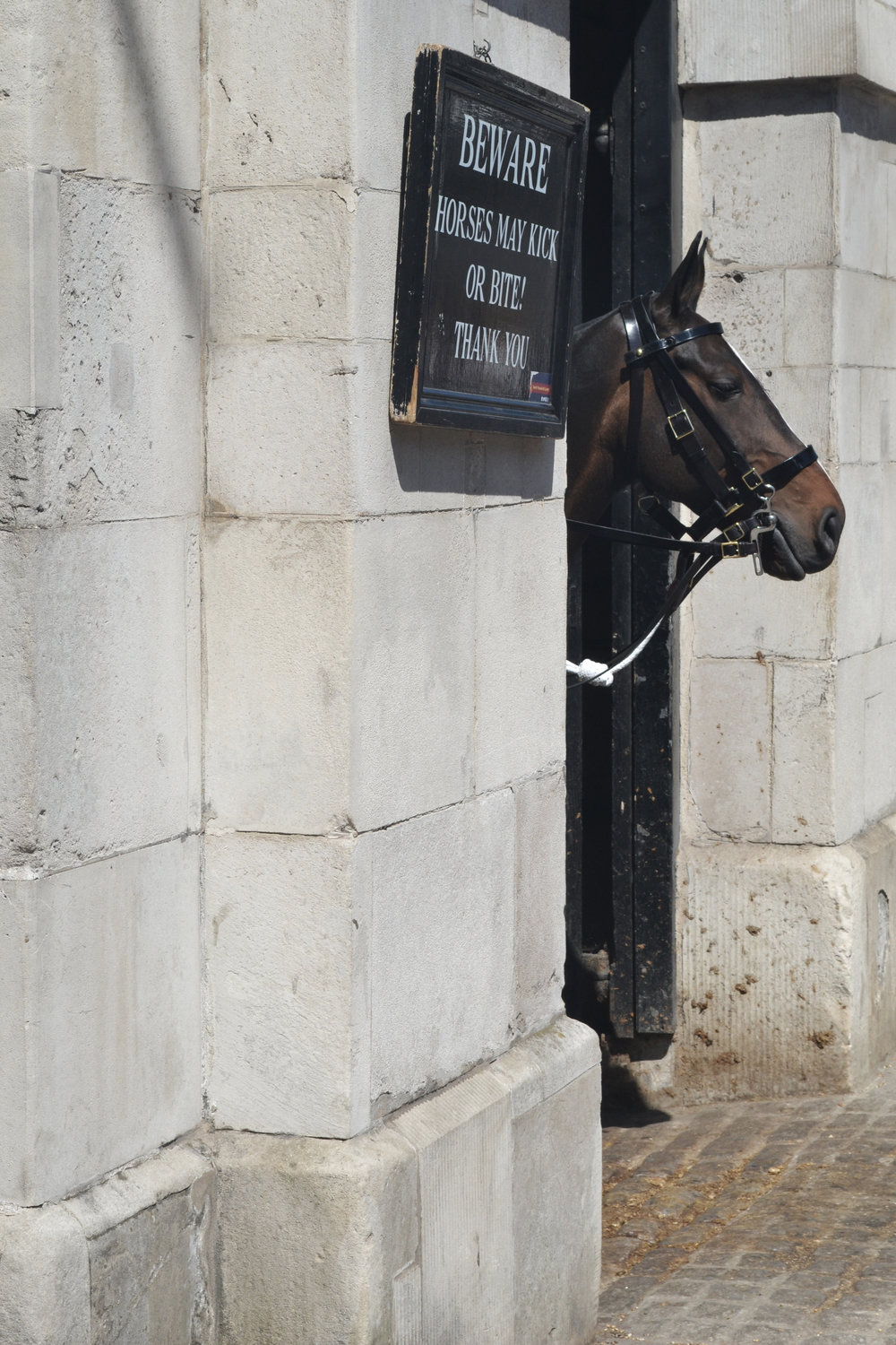 Horse Guards Whitehall entrance