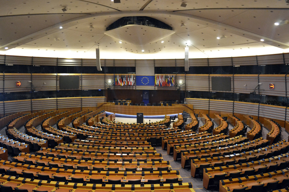 The Hemicycle in the PHS building