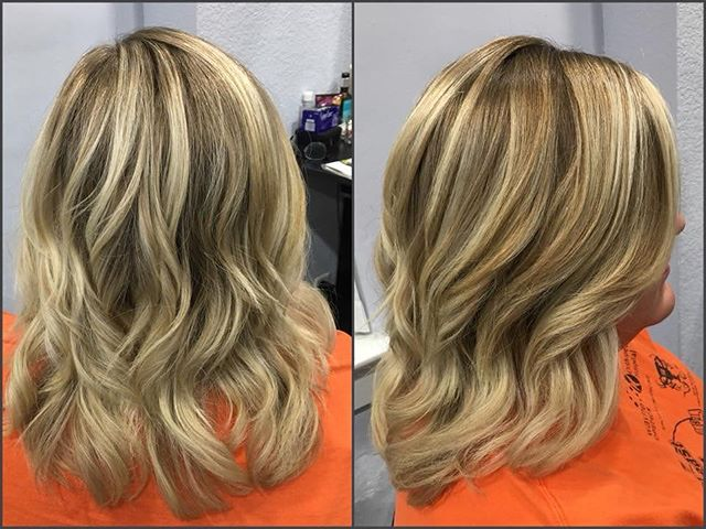 A beautiful, fresh new color by Sarah McSorley! Perfect for fall! 🍁😍 #blondehair #haircolor #houseofstyle