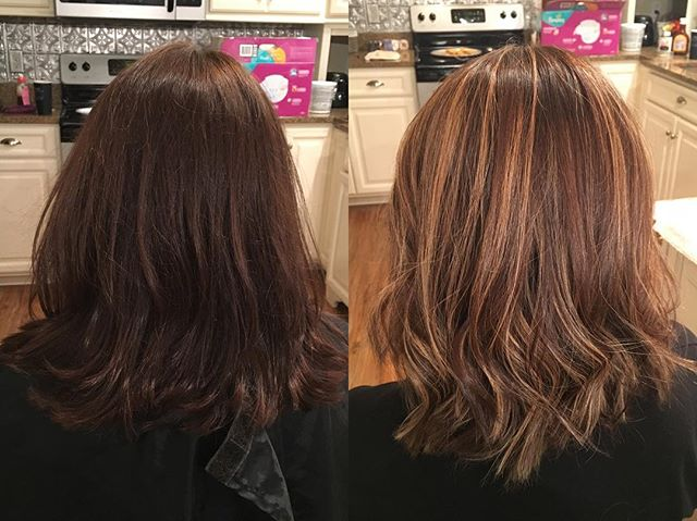 Hair done by Sarah McSorley @sarahhairaffair #beforeandafter #balayage