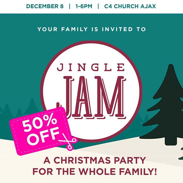 We are so excited to be hosting Jingle Jam, the BIGGEST Christmas party of the season! From now until Monday get the BIGGEST savings on tickets, 50% off the door price! link in bio.