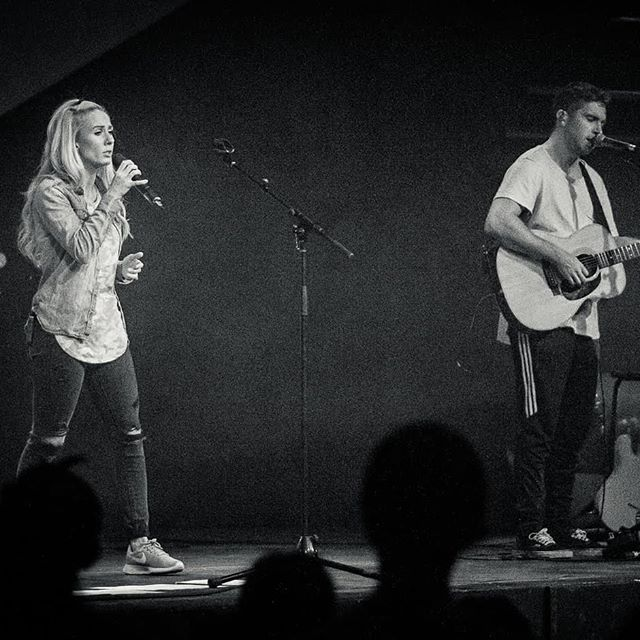 Worship night TONIGHT!  Amber and Zack Bowman are back this evening to lead us in worship. Come on down to @c4churchdurham at 7PM!! @amberjomusic @zackbowman_