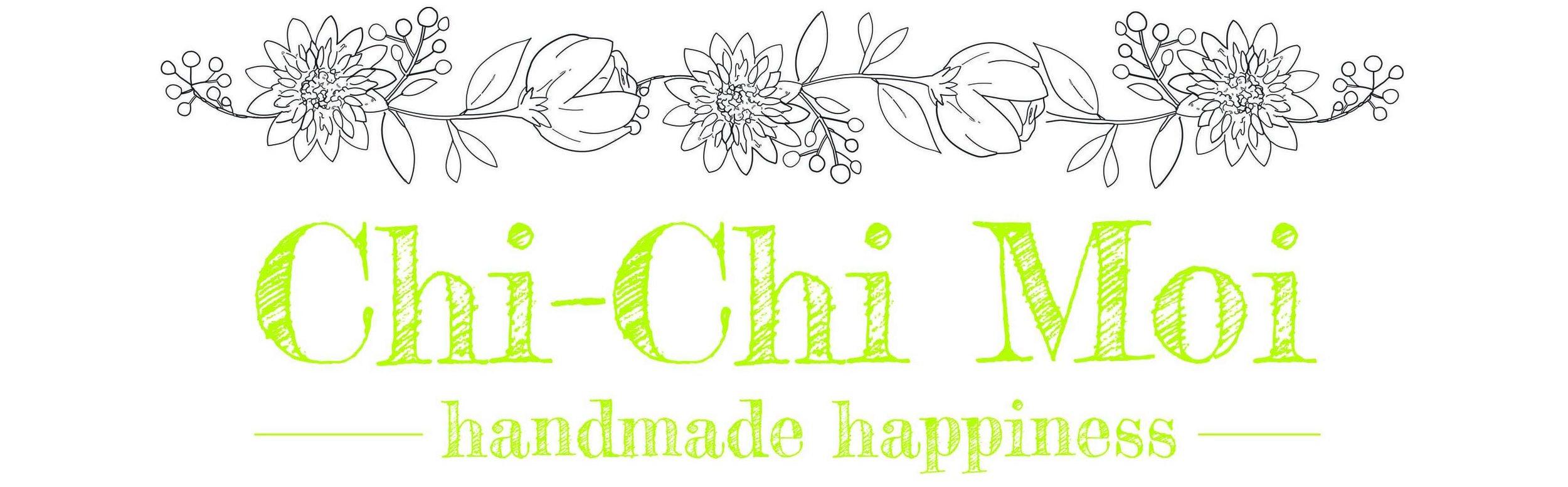 Chi Chi Moi Floral Letter Header