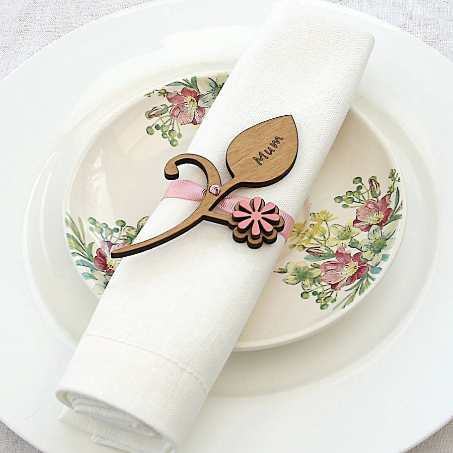 original_four-personalised-flower-bud-napkin-place-settings