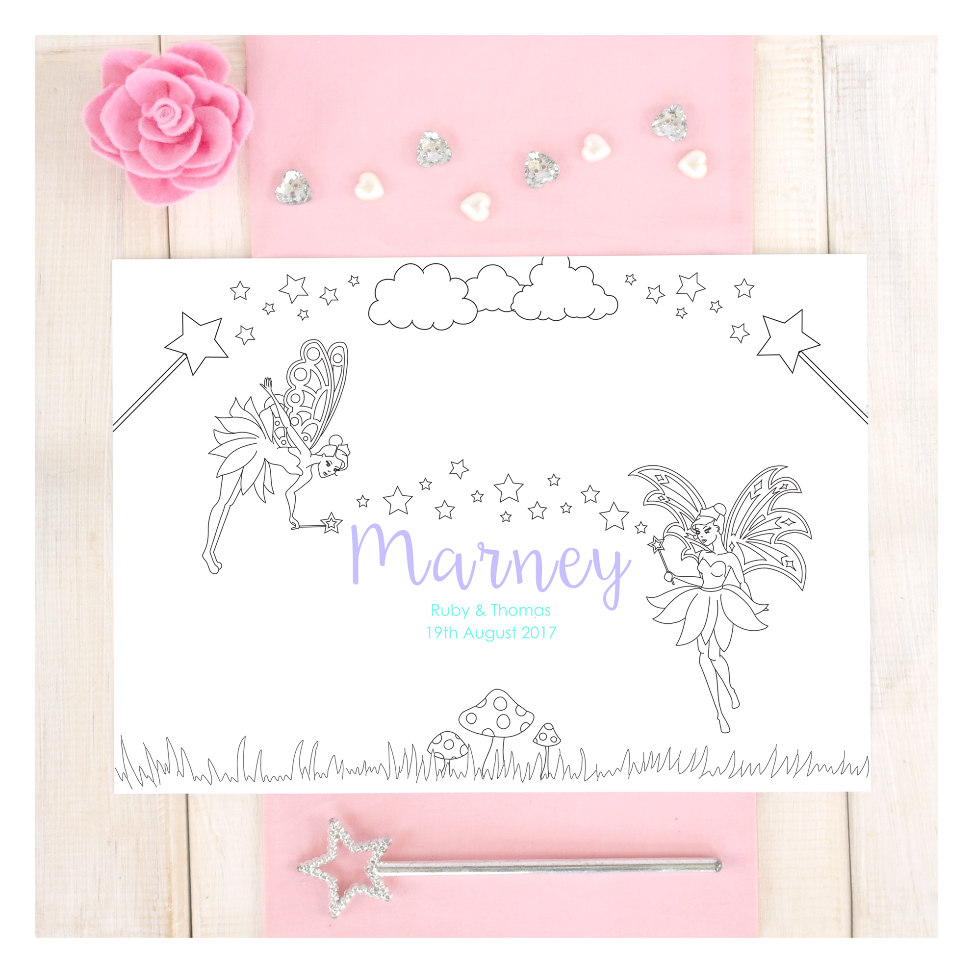 chi-chi-moi-fairy-colouring-in-childrens-place-mats