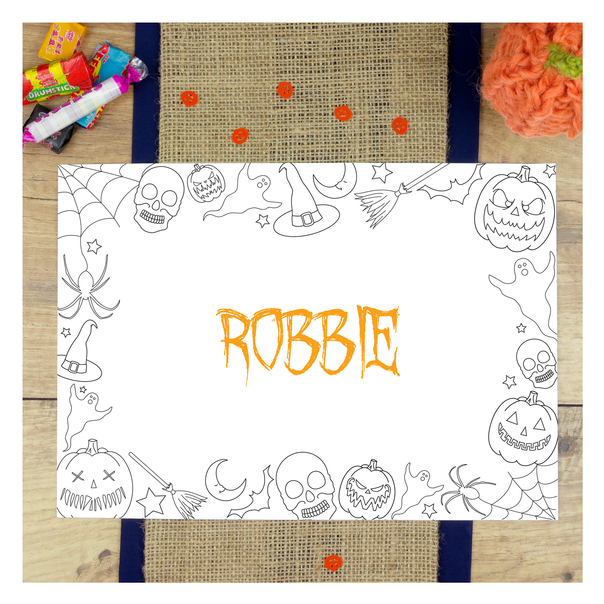 Chi-Chi-Moi-Halloween-Personalised-Colouring-In-PlaceMat-Mixed-Activity-1