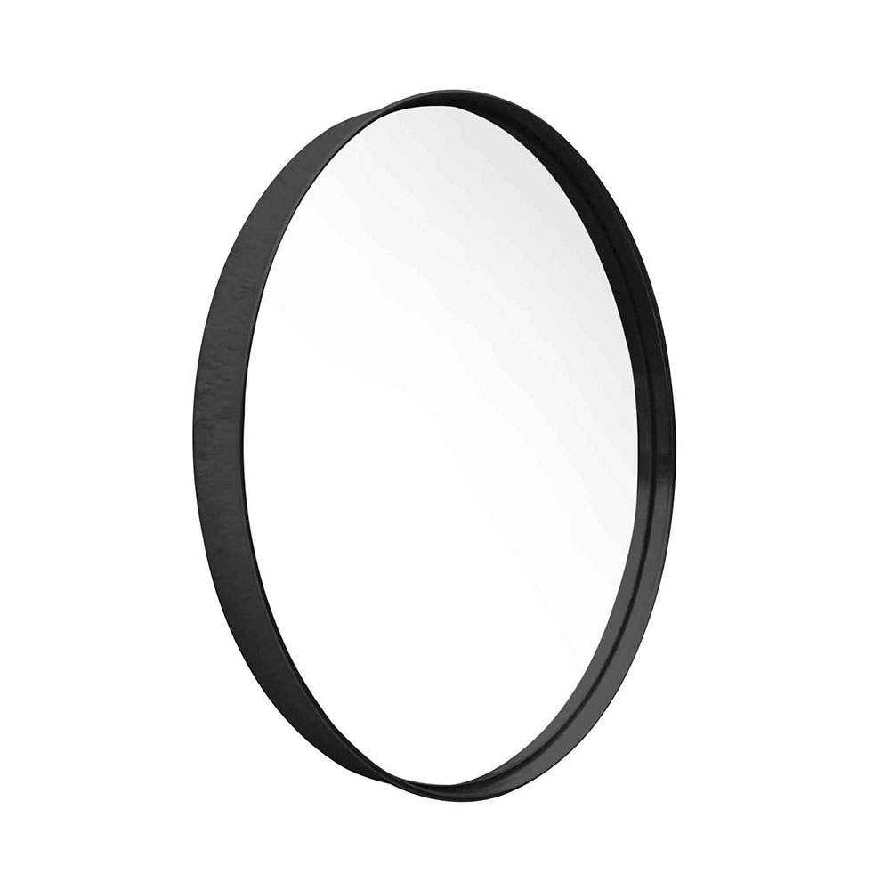 Espejo Circular Negro Diámetro: 51 cm $3520* Precio en efectivo.