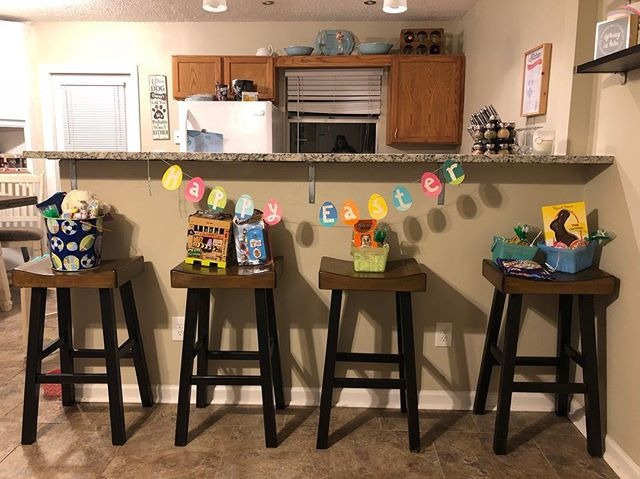 Easter in my house.