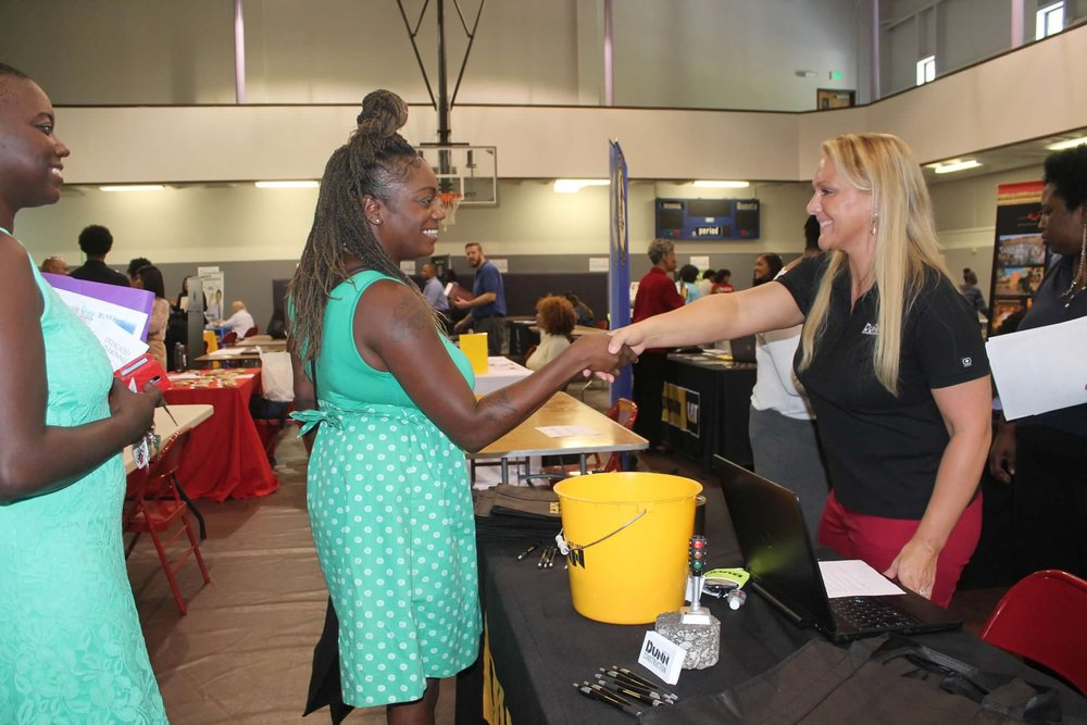 Connect 4 Careers - Our annual Connect 4 Careers event connects job seekers with over 80 employers in our area.— 2017 Connect 4 Careers