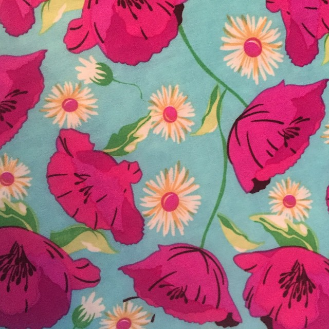 Spring Poppies for our Loosey Goosey Couture fashions. Easy care. #floral tops #springtops #fashiontops #floraltunics