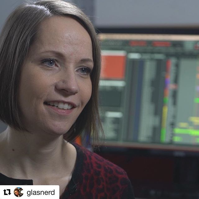 We are so thrilled that our genius composer will be on CBC's The National tonight, being interviewed by @glasnerd !  #Repost @glasnerd ・・・ Great chat with composer and remarkable musician Janal Bechtold. For an upcoming @cbcthenational item on female screen composers 🎼. Overlooked at the Oscars but getting louder in the industry.