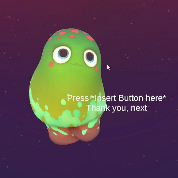 Cutest error message ever?? OwO #Terrorarium  #gamedevelopment #monsters #gamedev #videogames #indiedev #indiestudio #indiegame #characterdesign #moogu #mushroom #cute #3dmodel #3dmodelling