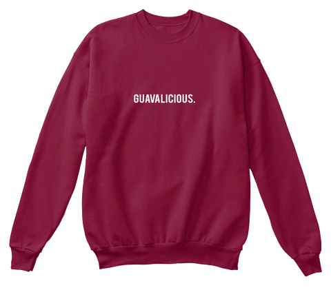 $35.00 - Keep it Guavalicious Crewneck - Cardinal