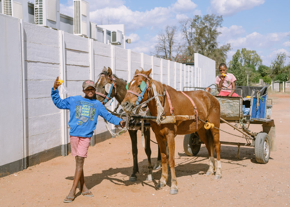 African Spokes traversed highly populated areas, but leg 4 was extremely rural. When we got to the frontier town of Gobabis, Namibia, after crossing the Kalahari in western Botswana for days we were all thrilled to see Namibian's living their lives.
