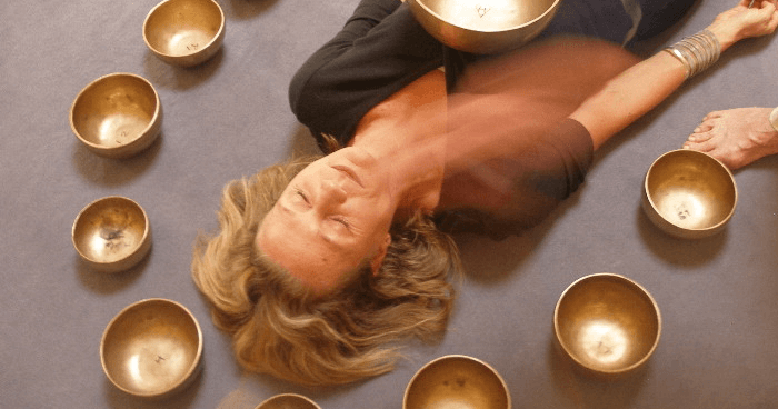 The harmonics of sound work to create order out of chaos