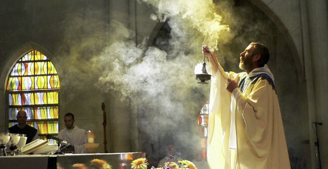 The Catholic Church has burned frankincense, to purify and sanctify, for centuries.