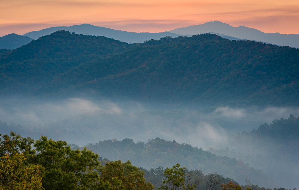 Sunrise, Foothills Parkway