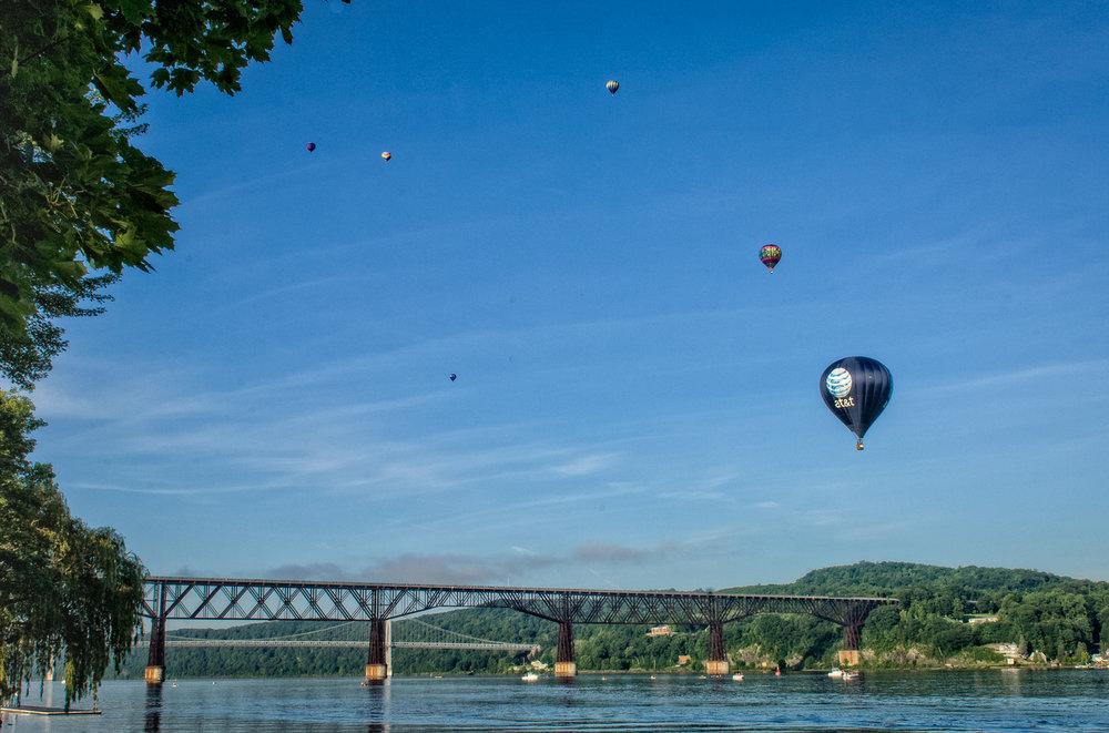 Balloon Festival, Hudson River