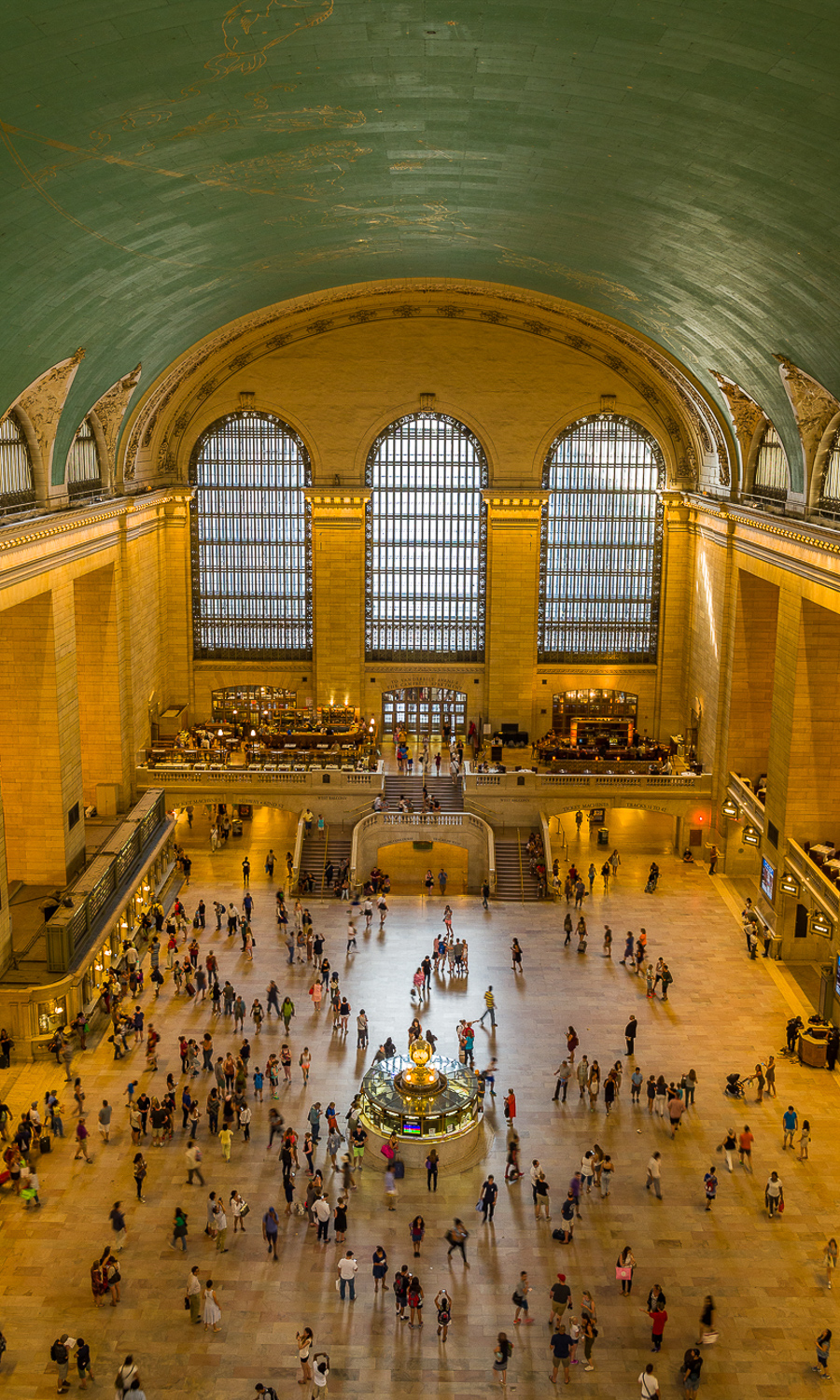Grand Central Terminal from above