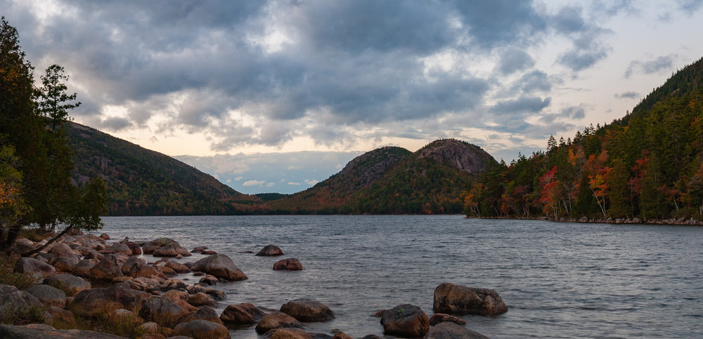 Jordan Pond Sunset
