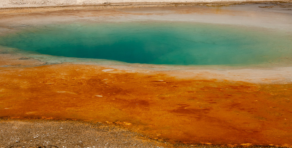 Closeup, Grand Prismatic Gesyer