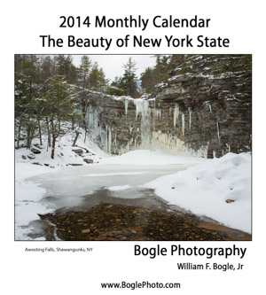 The Beauty of New York State Calendar