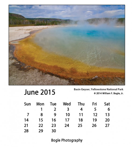 Basin Geyser, Yellowstone National Park