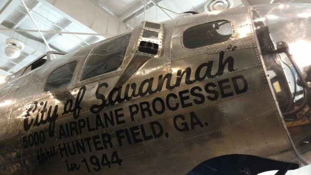 B-17, City of Savannah, Mighty 8th Airforce
